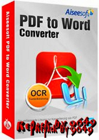 Aiseesoft PDF to Word Converter 3.3.26 RePack & Portable by 9649